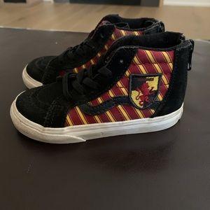 Vans Harry Potter Gryffindor toddler sneakers